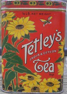 Vintage Food Drink, 89 Indian Tea Cafe Kitchen Old Shop, Small Metal/Tin Sign Vintage Tee, Vintage Food, Vintage Kitchen, Vintage Vogue, Vintage Prints, Tetley Tea, Tea Cafe, Vintage Packaging, Vintage Labels