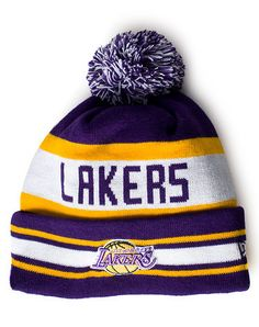 743a55c713a NEW ERA Winter knit hat with pom pom detail Fold up brim with official  signature logo Embroidered team name across front