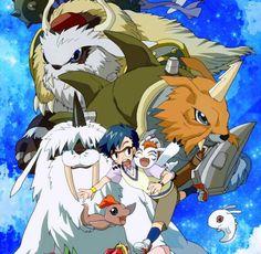 Digimon Adventure: Joe with Gomamon's Evolutions