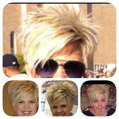 Love this girls hair!!'
