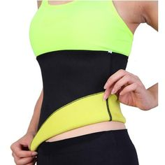 ad9a115d6d Sweat Belt Neoprene Body Shaper Slimming Belts for Women Waist Trainer  Cincher Underbust Corset Trimmer Tummy
