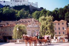 Taxi, my style, Salzburg, Austria. ~ one way tourists like to take a tour around Salzburg