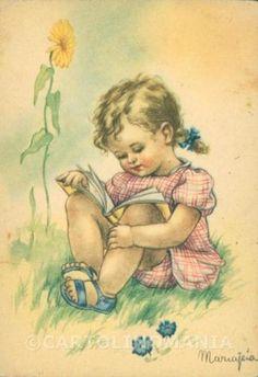 Maria-Pia-Child-Augurale-FG-PIEGHINE-postcard-cartolina-KS5800