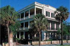 The Edmondston-Alston House in Downtown Charleston, SC is a circa 1825 mansion that is open to the public.