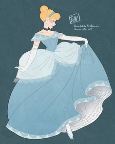 "dererumvita-art: ""Again, I'm two days late for Cinderella's 1st release anniversary, the 15th of February 1950. Maybe I should dream less about my own wishes…? """