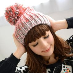 Buy '59 Seconds – Color-Block Pompom Beanie' with Free International Shipping at YesStyle.com. Browse and shop for thousands of Asian fashion items from Hong Kong and more!