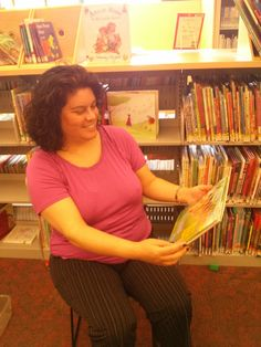 You can find Ana at the Elmhurst Branch where she's currently the only permanent librarian on staff.  This means she really can do it all!  She's great at reading to the little ones, and has been a children's librarian for years.