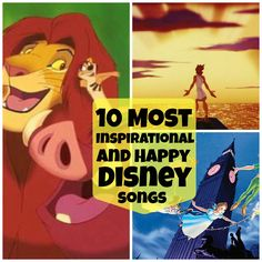 10 Inspirational Disney Songs to Totally Cheer You Up! (Videos)