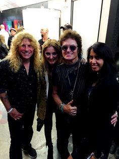 With Brother Steven Adler at his Art show in Hollywood... with Gab and Ravinder Pilson, Jeff's wife...