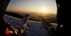 Spring skiing at Whiteface mountain Adirondacks
