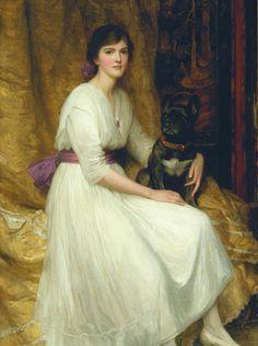 https://flic.kr/p/rBZgUs   dicksee, frank - Dorothy   Sir Frank Dicksee  1853-1928  Engeland