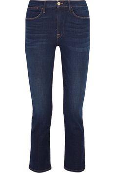 Frame   Le High cropped mid-rise slim-leg jeans   NET-A-PORTER.COM