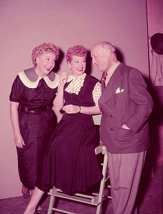 Lucille Ball, Vivian Vance and William Frawley 1950's COME VISIT US @ FAN CLUB LUCYBALLFANRICARDO THE BEST PLACE TO HAVE A BALL WITH I LOVE LUCY FANS. TELL YOUR FRIENDS LETS HAVE SOME FUN TOGETHER..