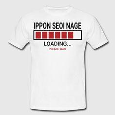 Cargando ... seoi Nage Ippon - Camiseta hombre