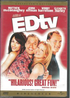 EdTV (DVD, 1999, Collector's Edition) Matthew McConaughey Director: Ron Howard