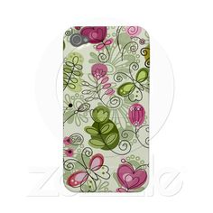 i love doodles case-mate iphone 4 case