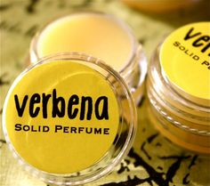 Verbena Solid Perfume by daisycakessoap on Etsy, 3.00usd