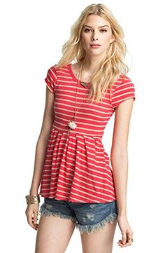 Free People 'Crazy Daisy' Peplum Tee Pink Combo Medium Free People http://www.amazon.com/dp/B00CWIEXCE/ref=cm_sw_r_pi_dp_P-9nvb1A07BZT