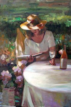 Reading and Art: Sally Rosenbaum