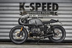BMW R100 Cafe Racer by K-SPEED  #motorcycles #caferacer #motos | caferacerpasion.com