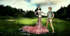 https://flic.kr/p/aGePi6 | Challenge 7: Ballsy | Goodevening models....  Don't I look all minimalistic...... and YES that is a club I'm holding..... a golfclub...  So boy and girls brace yourself because here's your next challenge....  Challenge week 7  You're cordially invited to: Mini golf exotique au Lavandou Address: Avenue du Grand Jardin 83980 - Le Lavandou Dress code: Casual golfing chique  ======================================  Shawnah's Blog  Until the last minute I was against my…