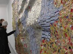 Unframed: Tapestries of Trash by El Anatsui in featured art  Category