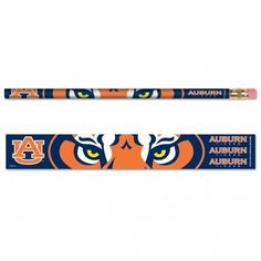 Auburn University Pencil 6-pack MNF