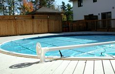 PRESSURE TREATED DECK WITH POOL, HALIFAX | Archadeck Outdoor Living of Nova Scotia Pool Decks, Outdoor Living, Outdoor Decor, Nova Scotia, Spa, Treats, Outdoor Life, Sweet Like Candy, Goodies