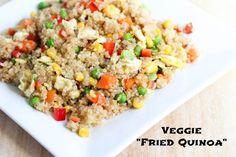 Gluten Free - Veggie Fried Quinoa #glutenfree
