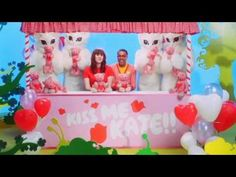 Kate Nash - Pumpkin Soup - Well Kate, you could do worse. Any boy who looks that cute in cardigans and nerd glasses is a good catch, especially since he seems fun and bubbly! Also, I love everything about this video, especially the outfits and color scheme. And kissing booth!