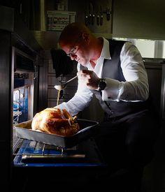 Australian Gourmet Traveller recipe for Heston Blumenthal& roast turkey. Christmas Roast, Christmas Recipes, Xmas, Christmas Lunch, Christmas Ideas, Chef Recipes, Cooking Recipes, Recipes Dinner, Dinner Ideas