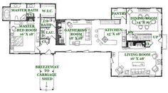 New england style saltbox house plans