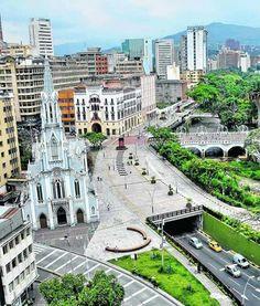 Cali city Colombia  Ermita Church
