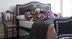 ACHICA | Niki Jones.  How to create a very grow up, stylish bed room!