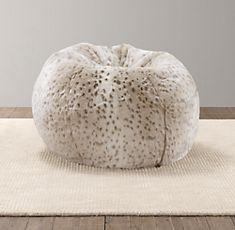 19 Best 2013 Holiday Fur Images Bean Bag Chair Faux Fur