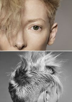 bohemea:    Tilda Swinton by Jan Welters, 2011