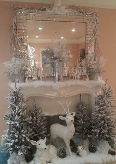 Winter theme Decor for after Christmas