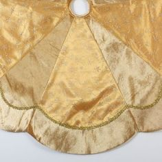 gold antique gold christmas tree skirt - Gold Christmas Tree Skirt