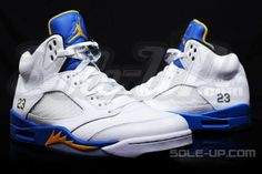 "best website 495a0 43f7b Air Jordan 5 ""Laney"" 2013 Nike Air Jordans, Billige Jordans, Schuhe Jordans"