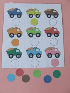 , Learning Games For Toddlers, Activities For 1 Year Olds, Toddler Learning, Fun Learning, Learning Activities, Toddler Activities, Transportation Activities, Montessori, March Themes