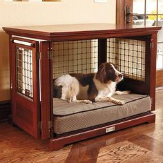 pet crate bed manchester furniture style dog crates