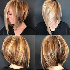 Hairstyling Trends Bob Hairstyles Tiered Head Back .- Haarstyling-Tendenzen Bob Frisuren Hinterkopf gestuft – Haus Dekoration Mehr Hairstyling Trends Bob Hairstyles Tiered At the Back of the Head - Short Graduated Bob, Graduated Bob Hairstyles, Bob Hairstyles 2018, Layered Bob Hairstyles, Straight Hairstyles, Long Bob, Hairstyles Pictures, Bob Short, Medium Hairstyles