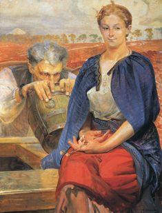 """Jacek Malczewski """"Zatruta studnia IV"""", 1905 (Muzeum Narodowe w Poznaniu)"""