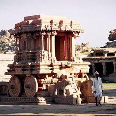 Hampi 1998.  #India #Hampi #ruin #travel #film #craigfergusonimages