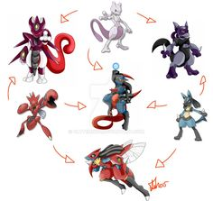 :Commish:: Hexafusion by Clytemnon on DeviantArt