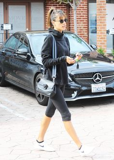 Celebrities love this type of legging for summer (and so do you). See how they're styling them and shop our stylish workout tight picks here.