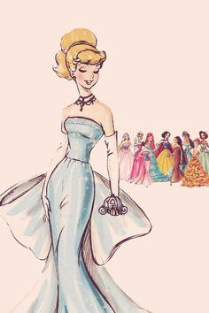 • Art disney iphone collection vintage wallpaper: Cinderella-designer princesses disney marryintothemob •