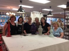 Introduction to Furniture Painting, using Amy Howard's One-Step Paint- $49. For more information and to register click here!  http://thetreasuredhome.com/sacramento-interior-design/saturdays-chalk-class-includes-a-free-lamp-make-over #thetreasuredhome