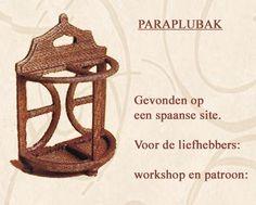 Paraplubak. Workshop en patroon via site.