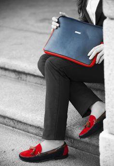 #WorkLook Funda para Tablet o IPad Darcy y Zapato Bella